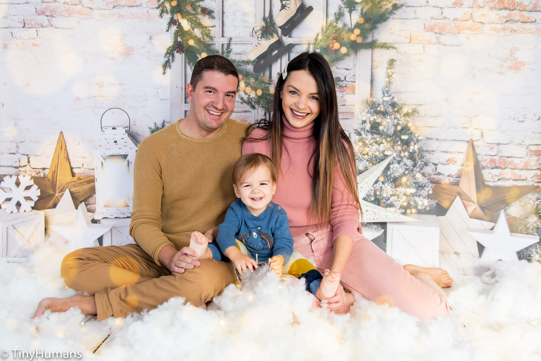 Christmas minis family setup